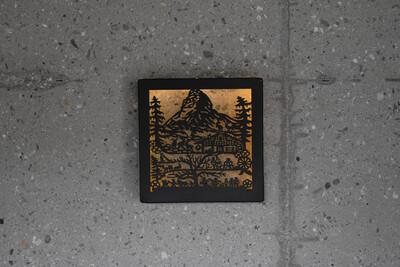 Alpenbild «Zermatt» MINI