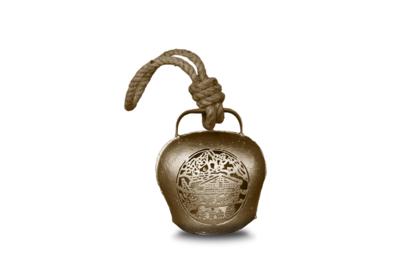 Glocke / Treichel Le Chalet, gold, Mini