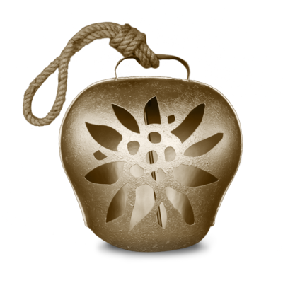 Glocke / Treichel Edelweiss gold, Grand