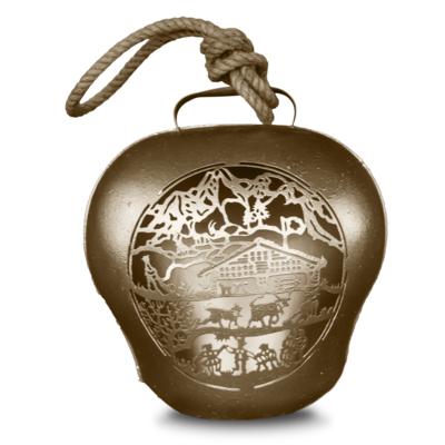 Glocke / Treichel Le Chalet, gold, Grand