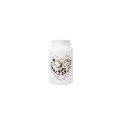 Milchkanne MIDI Les Amoureux, blanc, H29cm
