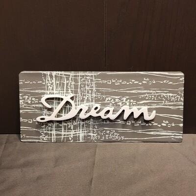 Schilderbilder Magnet DREAM