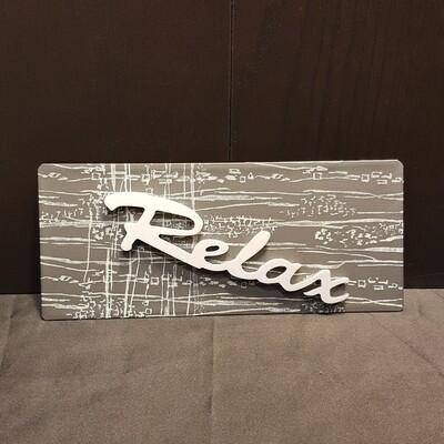 Schilderbilder Magnet RELAX
