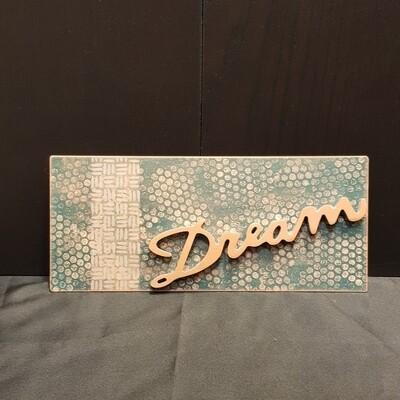 Schilderbilder Magnet DREAM, kupferfarbton