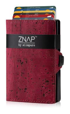 ZNAP - Korkleder rot,  8 Karten