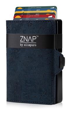 ZNAP - Korkleder dunkelblau,  12 Karten