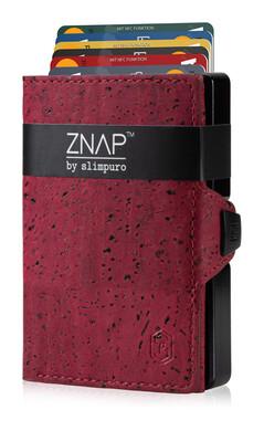 ZNAP - Korkleder rot,  12 Karten
