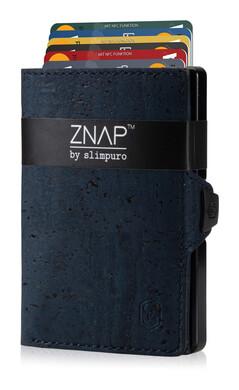 ZNAP - Korkleder dunkelblau,  8 Karten