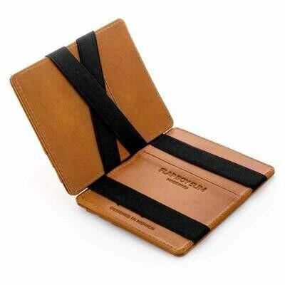 Flap Boy Slim RFID, Cognac | Schwarz