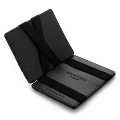 Flap Boy Slim RFID, Lochprägung black | black
