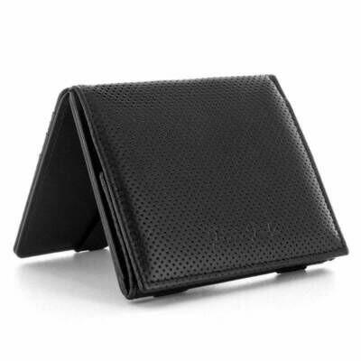 Flap Boy Pocket RFID, Lochprägung black | black