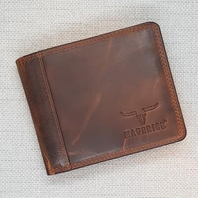 Wallet DALIAN, brown, 11x9cm