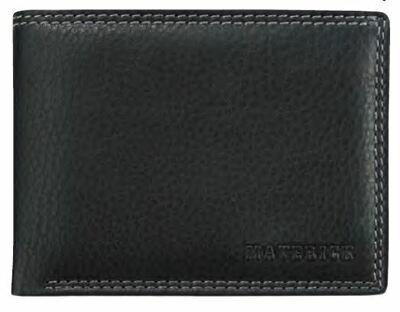 Wallet DAKOTA Cuir, black, 11x8.1cm