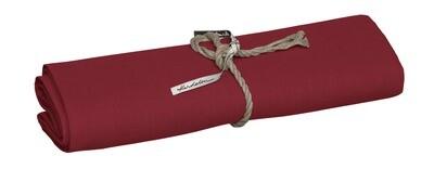Leinen Tischläufer  47 x 150cm,  Rot