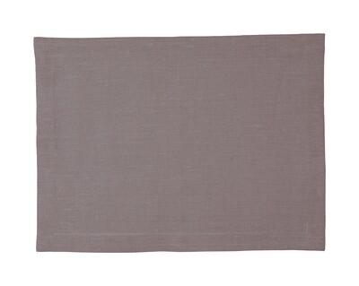 Leinen Tischläufer  47 x 150cm,  hellgrau