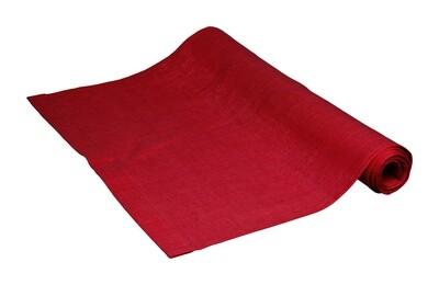 Leinen Tischset 37 x 50cm, rot