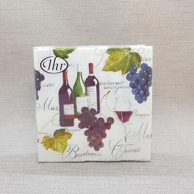 Serviette Wein-Zeit