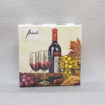 Serviette Wein-Genuss