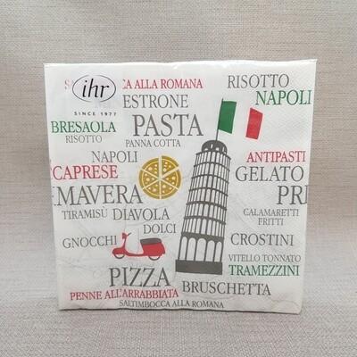 Serviette Viva Italia