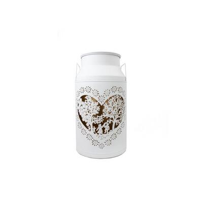 Milchkanne Grand Les Amoureux, blanc, H46cm