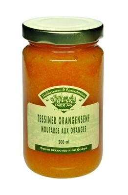 Tessiner Orangensenf, 200ml