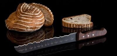 Brotmesser Best of Switzerland, Teflon, Panoramaknife