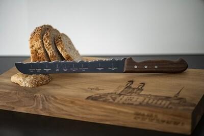 Brotmesser Zürich, mit Teflonklinge, Panoramaknife