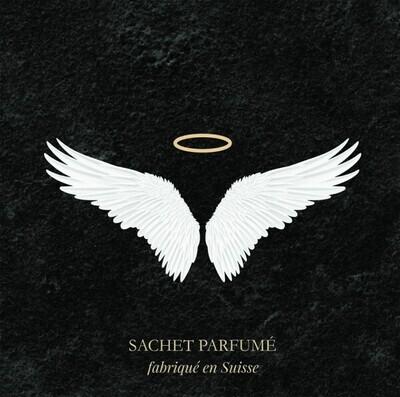 Angel Wings Duftsachet mit Goldfolienprägung
