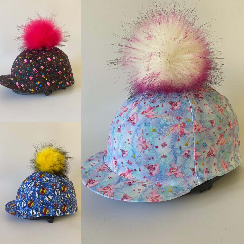Printed Fabric Hat Silks
