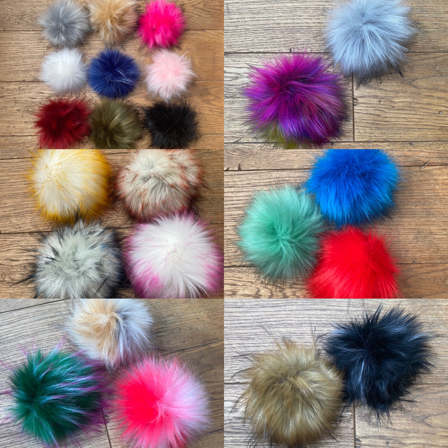 Extra Pompoms from £4