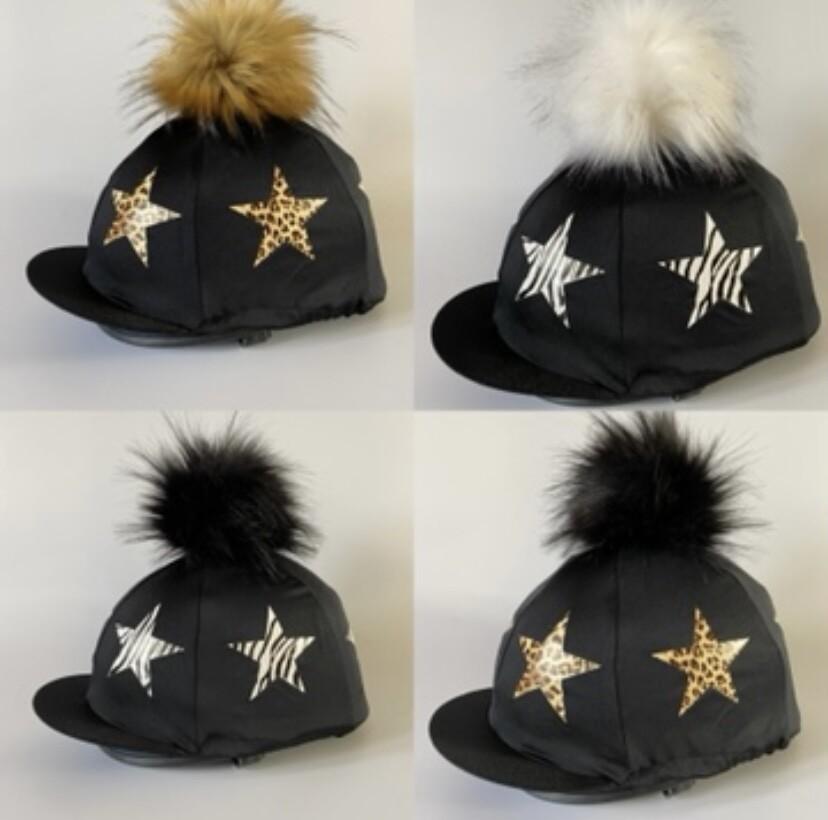 Star Print Hat Silks from £20