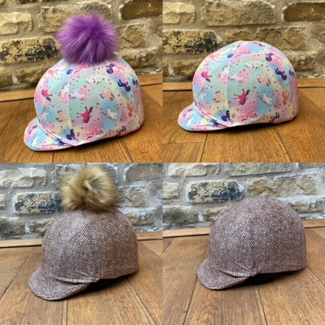 Pocket Peak Hat Silk For Riding Hats With Peak from £14