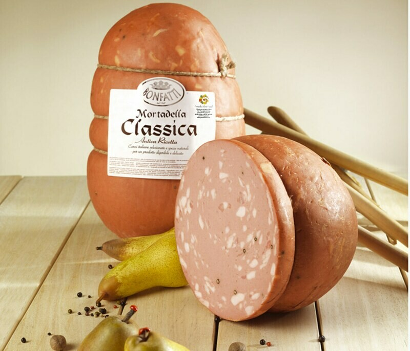Mortadella Classica Presidio Slow Food kg 3,5 mz