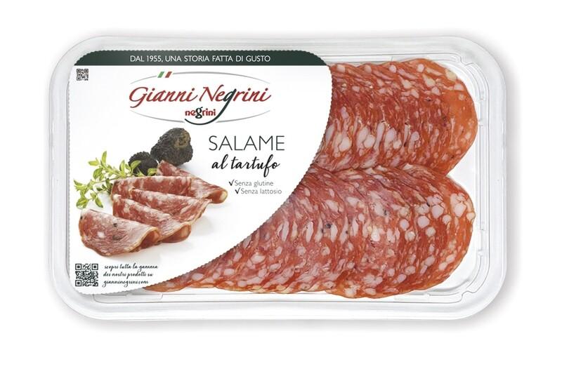 Salame al tartufo vaschetta 80 gr