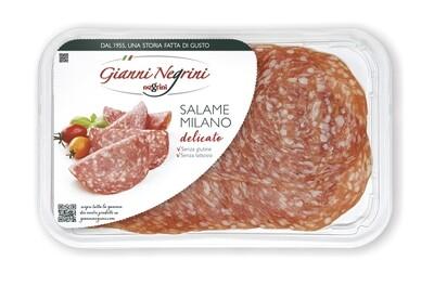 Salame Milano vaschetta 80 gr