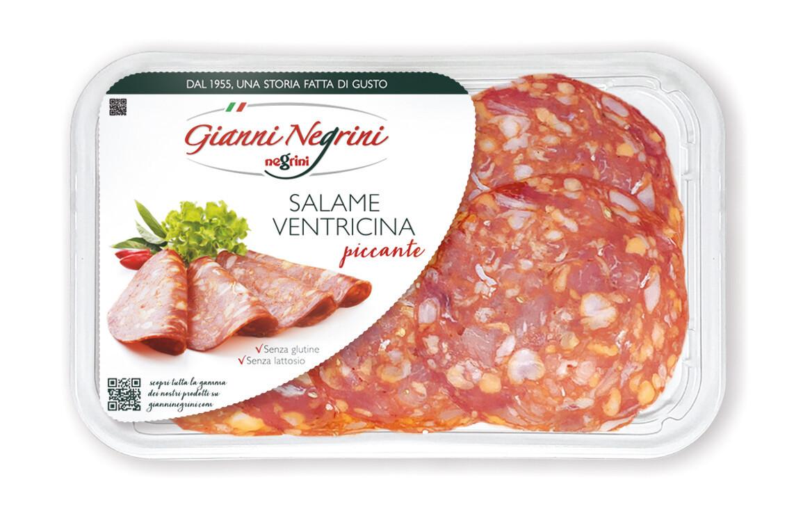 Salame Ventricina piccante vaschetta 80 gr