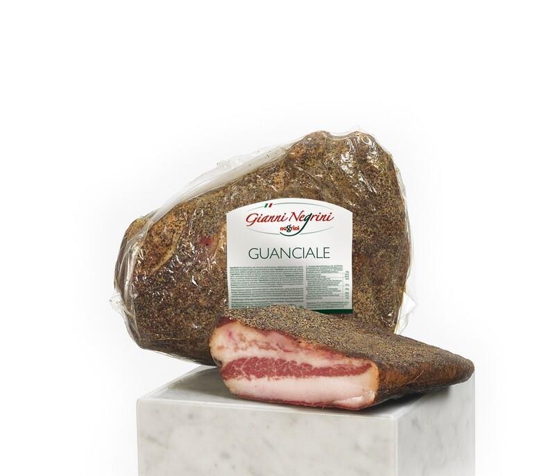 Guanciale c/pepe 1,5 kg s/v
