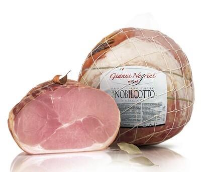 Prosciutto cotto Il Nobilcotto Italiano 5,5 kg metà s/v
