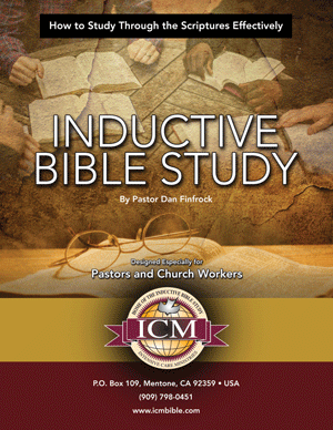 Inductive Bible Study - English Manual