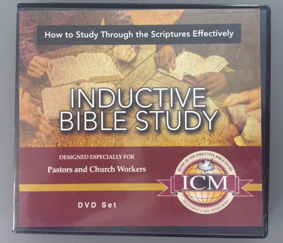 Inductive Bible Study - DVD Video Course