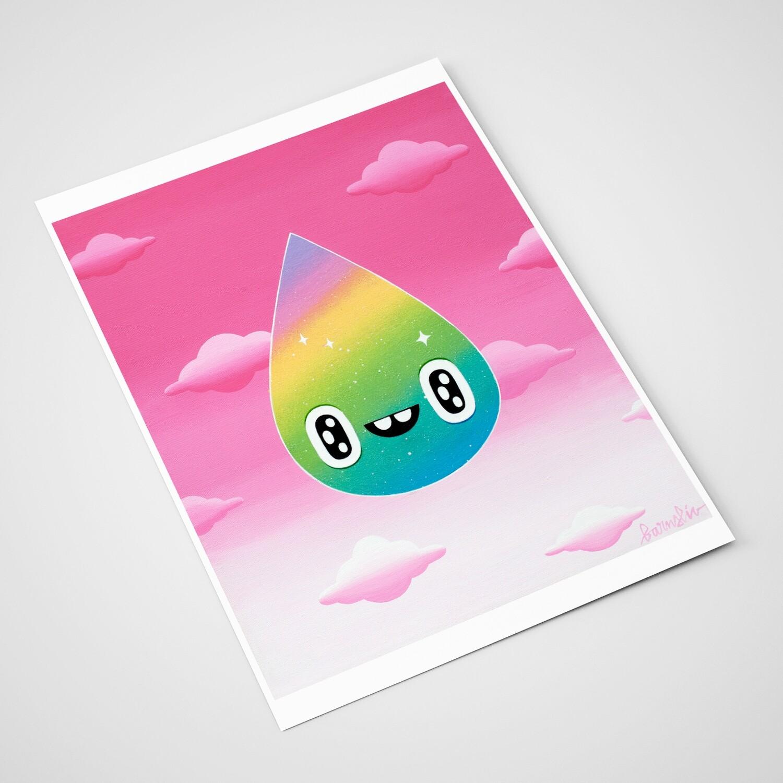 """Rainbow droplet"""