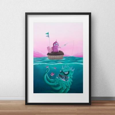 Fisketur - print