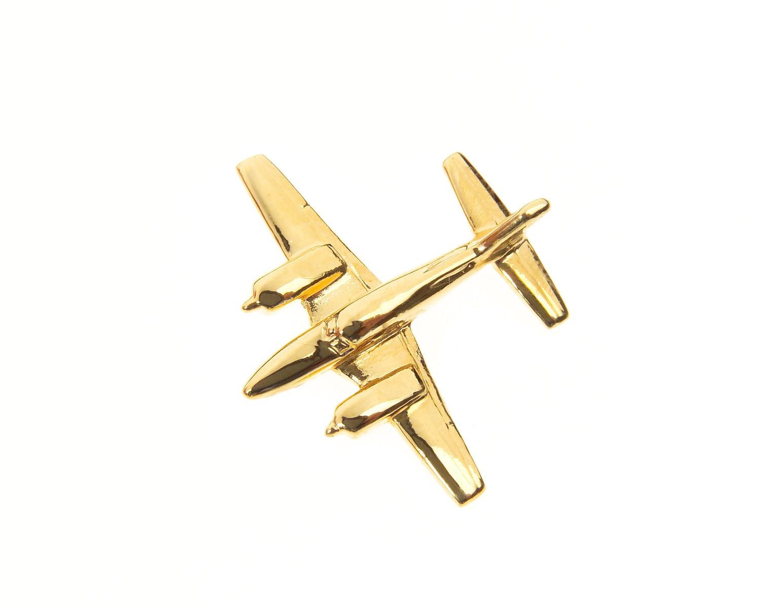 Piper Navajo Gold Plated Tie / Lapel Pin