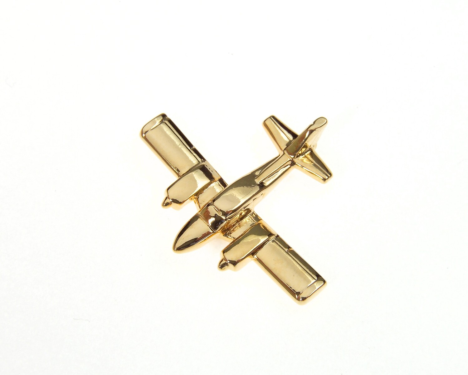Grumman Cougar Gold Plated Tie / Lapel Pin