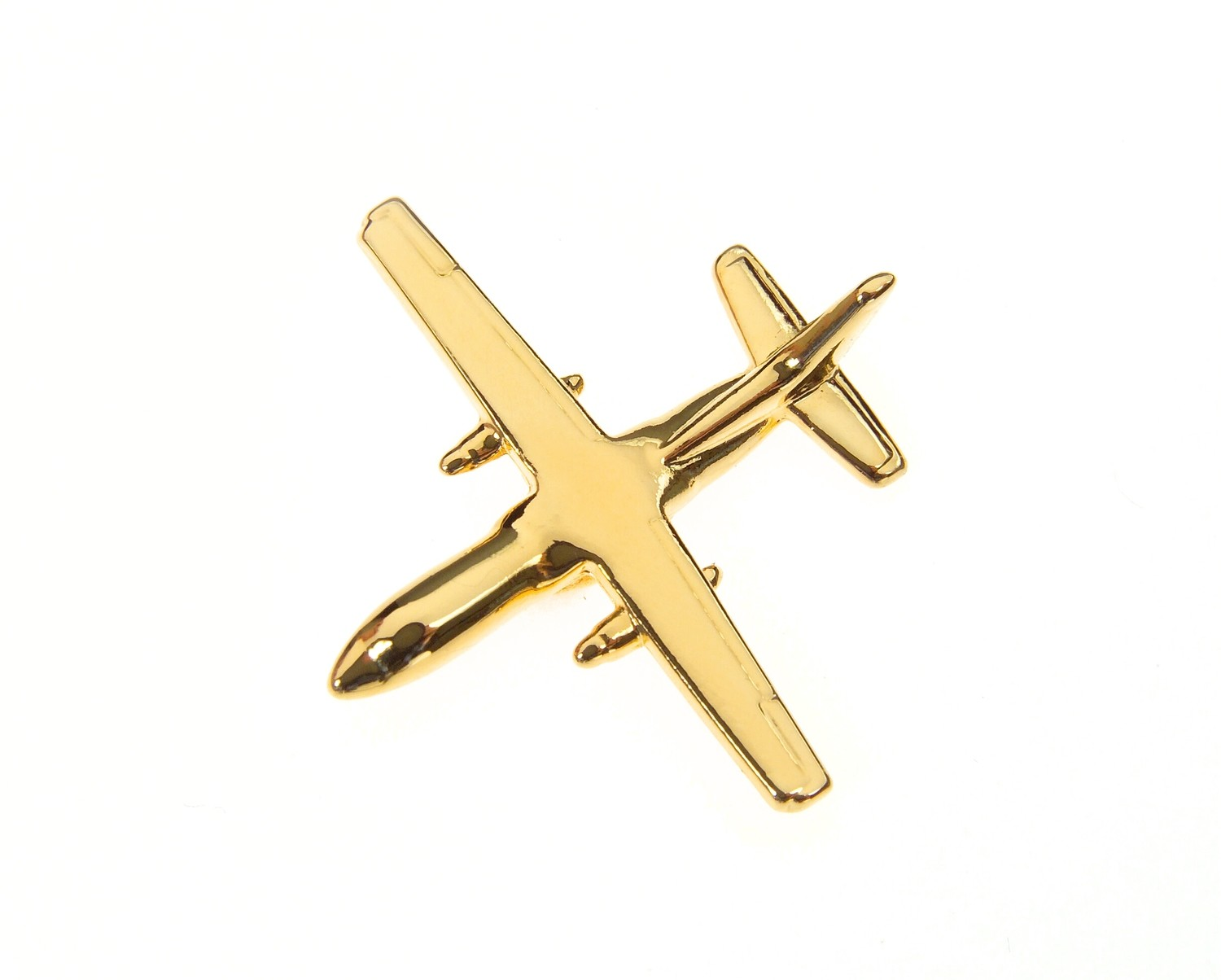 Antonov An140 Gold Plated Tie / Lapel Pin