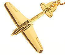 Hawker Hurricane Keyring