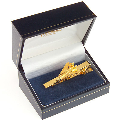 F14 Tomcat Tie Bar / Clip Gold Plated