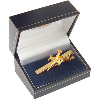 F104 Starfighter Tie Bar / Clip Gold Plated