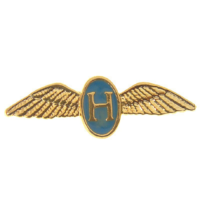 Helicopter Pilot's Wings Tie / Lapel Pin