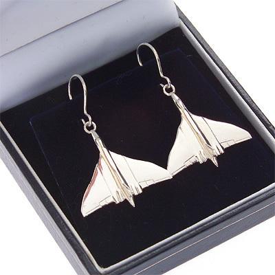 Vulcan Earrings Solid Silver
